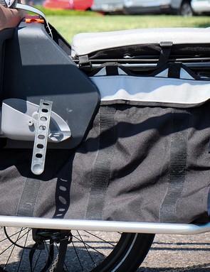 The Edgerunner 10E comes with cargo bags