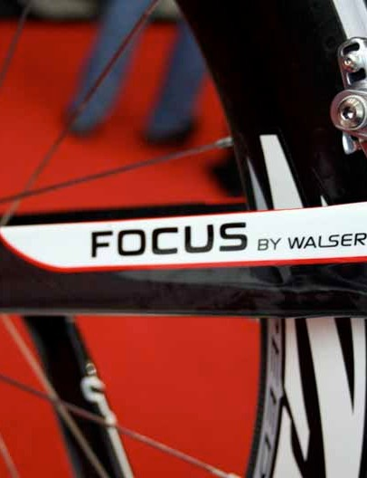 … but it is actually a rebranded frame	from Swiss bike builder Walser - an historically popular move amongst the German teams.