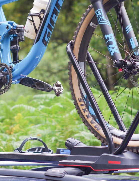 It's hard to get excited about a bike rack, but the Highroad is very good indeed