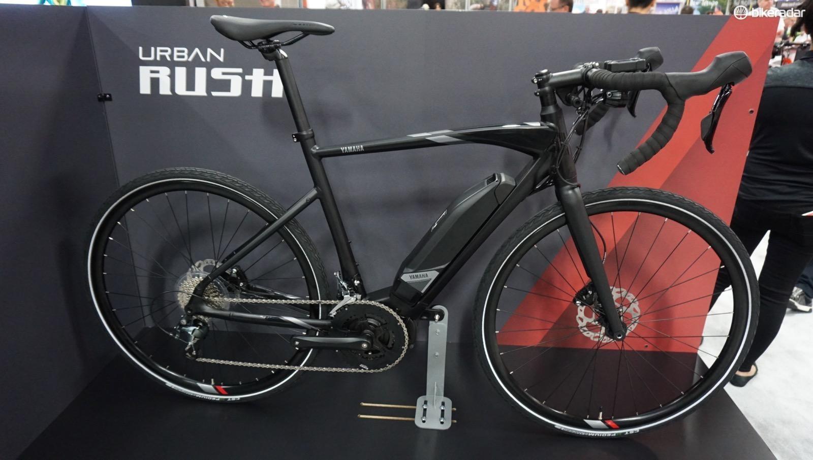 The Rush will be Yamaha's e-road bike
