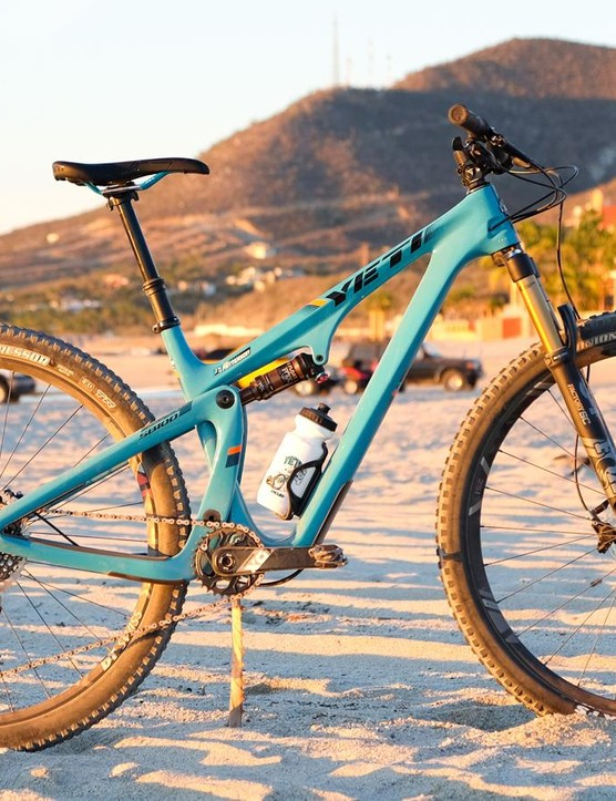 The Yeti SB100 uses a new version of Switch Infinity in a short-travel package