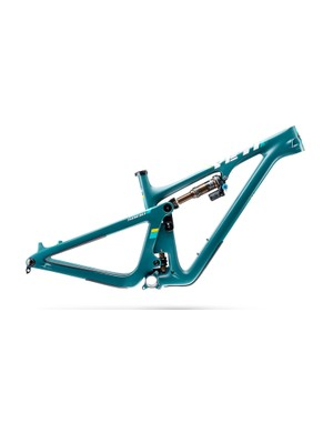 In addition to turquoise and black, Yeti is offering the SB130 in this new 'Spruce' colorway