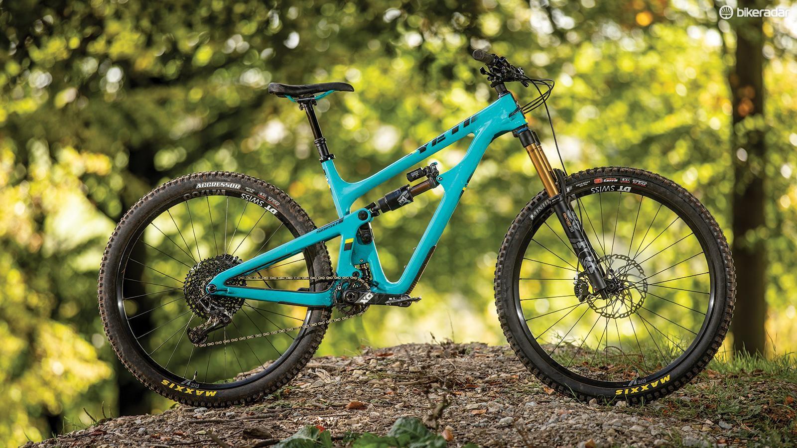 Yeti has added seriously progressive geometry to its latest bikes