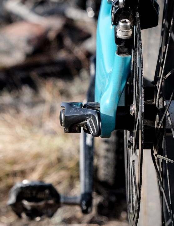 We'd like the 148x12mm Shimano QR thru-axle replaced with a Syntace X-12 style thru-axle that wouldn't stick out so far