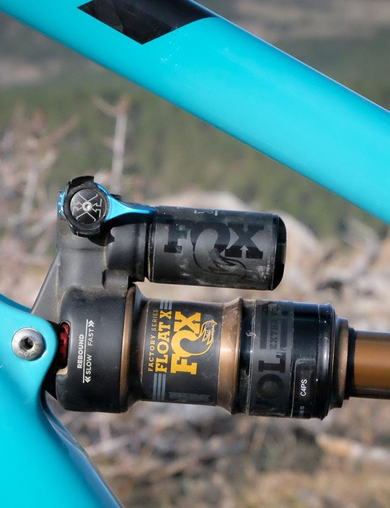 While the Float X DPS shock offers a firm and lockout position, the SB5.5c pedals exceptionally well in the open mode