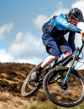 The Yeti comes with a Fox Float X Factory rear shock and 160mm travel on the Fox 36 Factory Boost fork