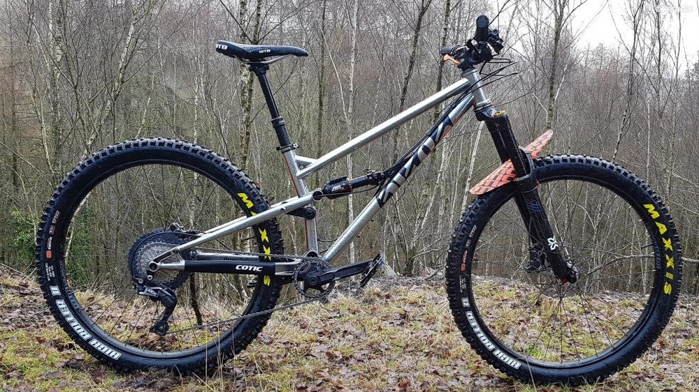You can also run the FlareMAX with plus-sized tyres