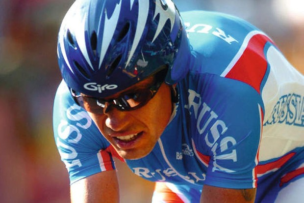 Viatceslav  Ekimov competed and performed well in the Tour de France aged 40
