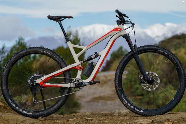 The YT Jeffsy CF 29 is our Trail Bike of the Year for 2018