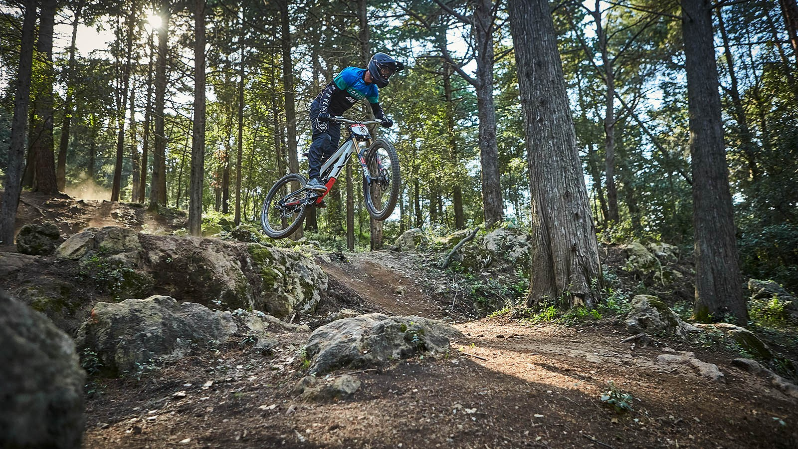 Our man Rob sending one of the many gaps to feature on the UCI World Cup track from round 1 in Losinj, Croatia