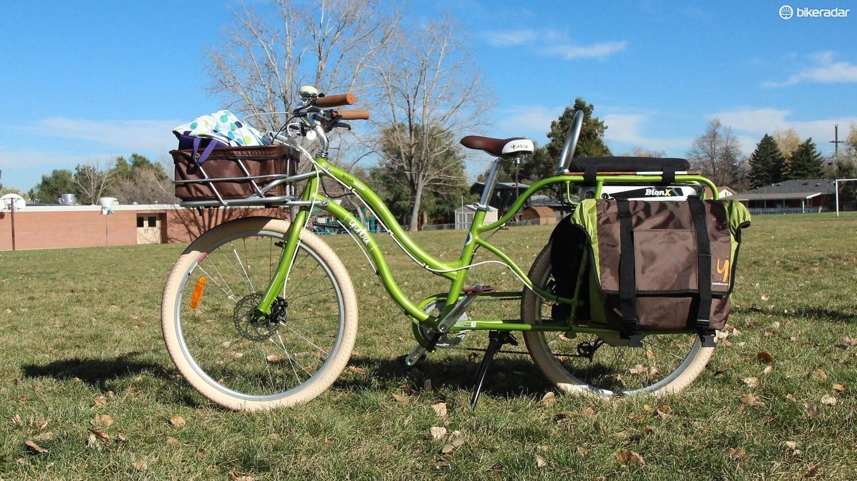Cargo bikes are great for hauling your cargo — and kids — around