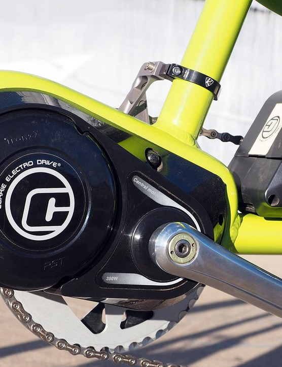 Cargo bikes are ideally suited for e-assist systems