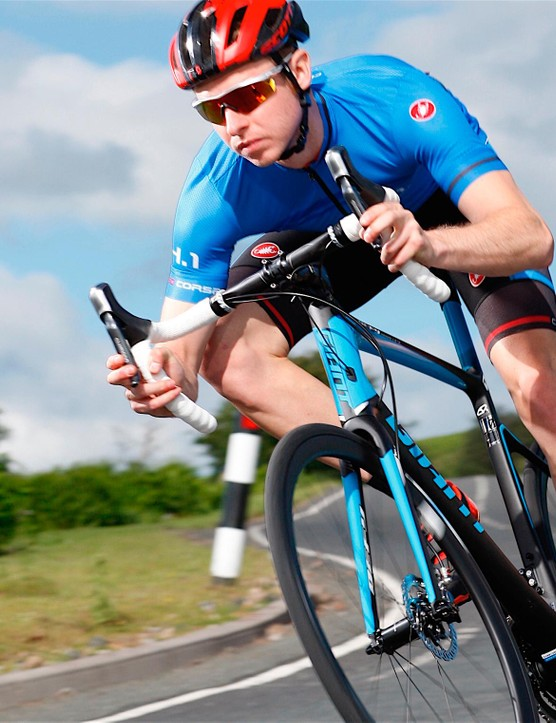 Giant was the first to fully commit to discs on road bikes, by adding them to its Defy range
