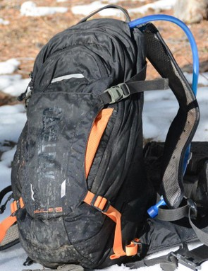 This Mule LR hydration pack has seen a lot ride time and has held up admirably