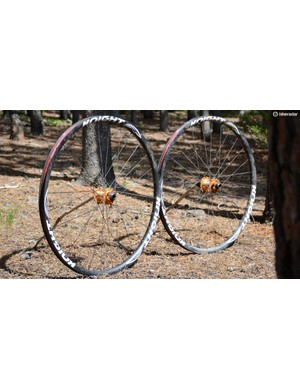 Knight Composite's Trail wheels can easily pull off XC racing and trail riding