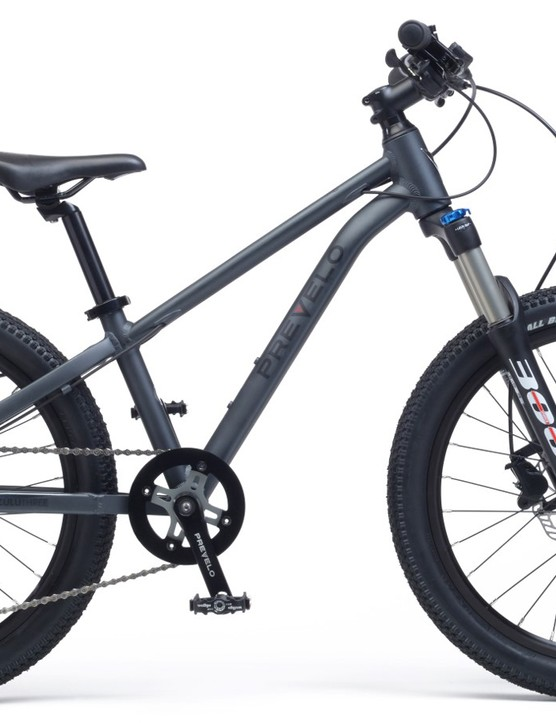 The Zulu Four has an aluminum frame, air sprung fork, Shimano 10-speed drivetrain and hydraulic disc brakes