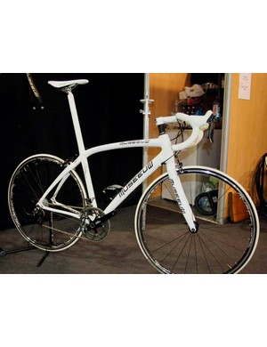 Also new for Museeuw is the Gran Fondo,an entry level frame with less flax, which is reflected in the price.