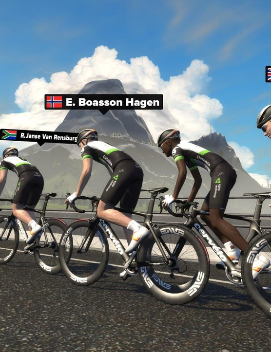 Team Dimension Data is the first African WorldTour team