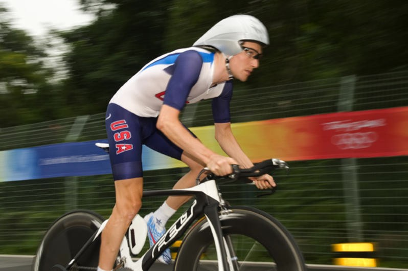 American Dave Zabriskie, also coached by Max Testa, came back from injury to win the US Pro time trial a third year in a row.