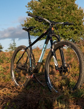 The Zealous Division is a brutally fast 29er hardtail