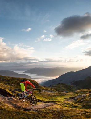 Zell Am See-Kaprun is around 80km from Salzburg airport, with some incredible mountain biking trails
