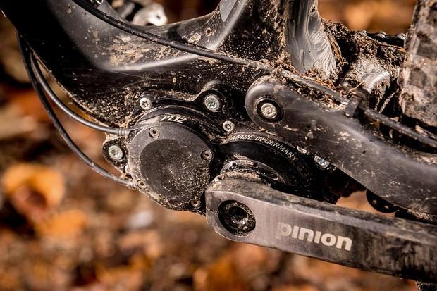 Pinion gearbox on Zerode bike