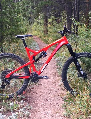 With impeccable all-around performance Diamondback's Release 5c is darn close to the definition of a modern mountain bike