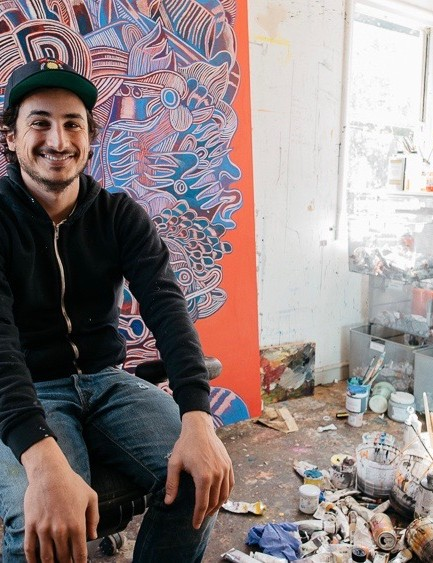 Zio Ziegler is a painter, sculptor and mountain biker based in San Francisco