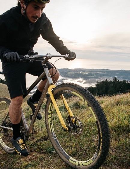 Ziegler riding in NorCal
