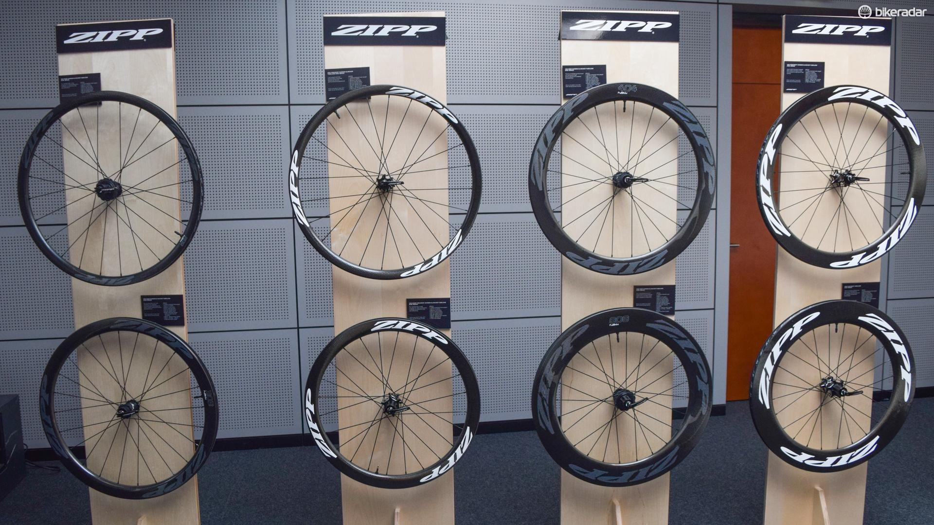 Eight new wheelsets from Zipp? Is it Christmas?