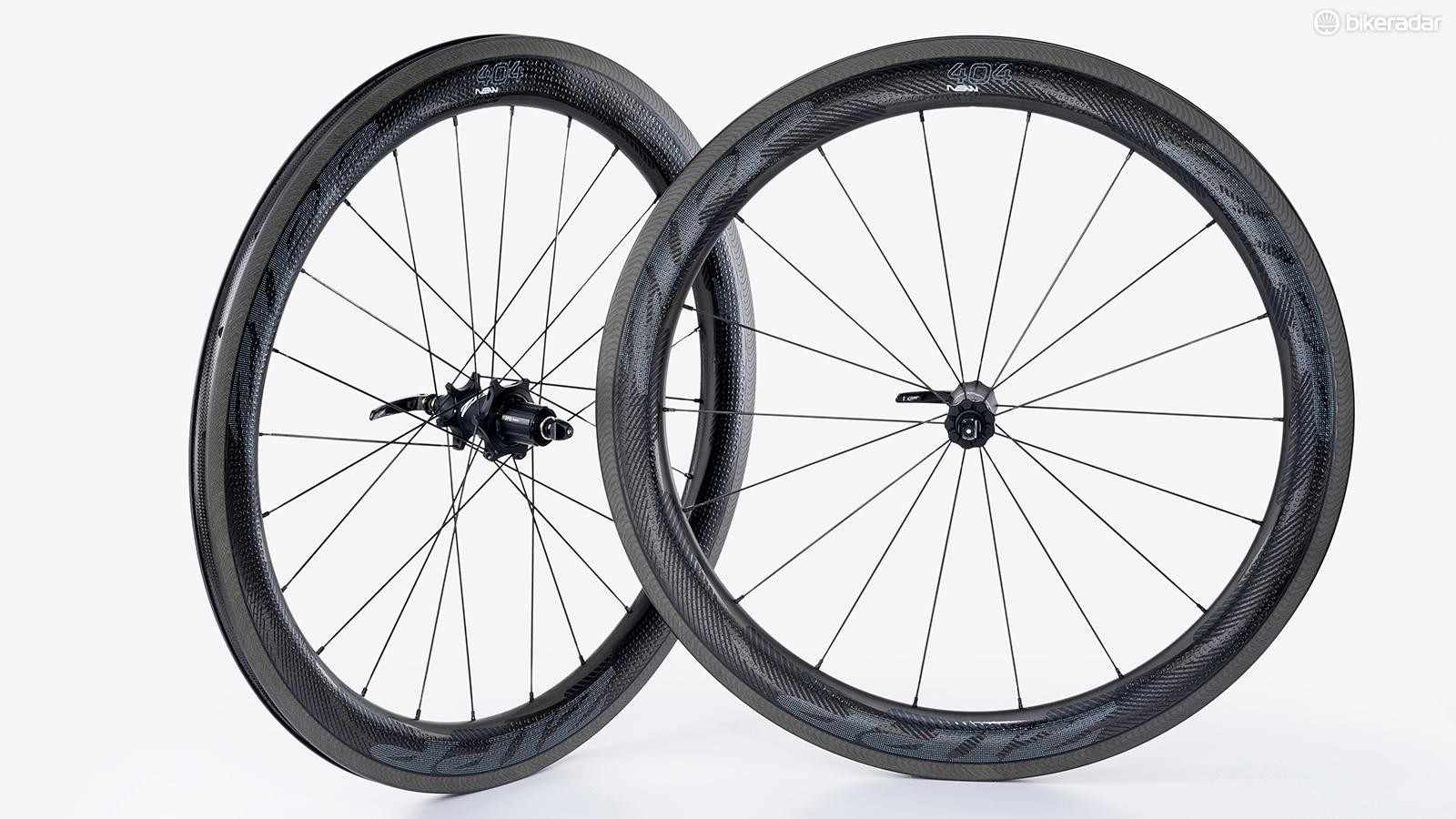 With its 58mm rim, Zipp's 404 NSW is a versatile wheel
