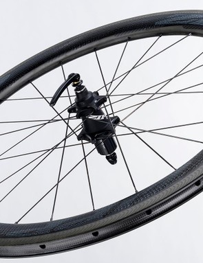 Zipp's magnet-based rear hub requires no lubrication or maintenance