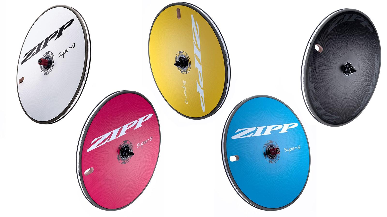 30th Anniversary Edition Zipp Super-9 wheels
