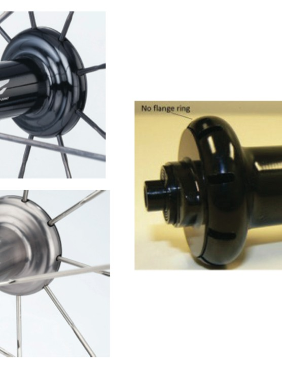 The hubs at left are being recalled. Note the flange ring on those two models. The hub at right, 88v9, does not have a flange ring and is not being recalled