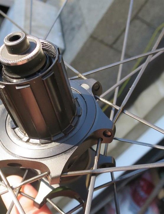 The low-profile shape of the new hubs' internals means you can swicth from a standard freehub to the 1x-specific SRAM XD driver