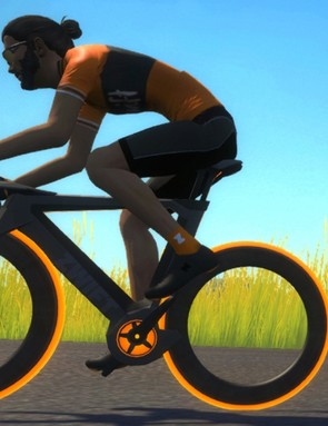The Zwift concept bike