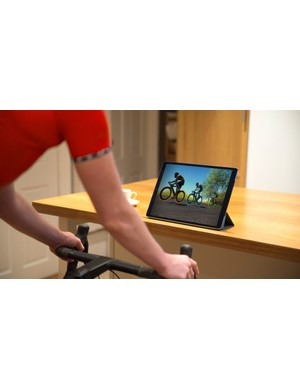 Zwift is simple to set up on your iPad
