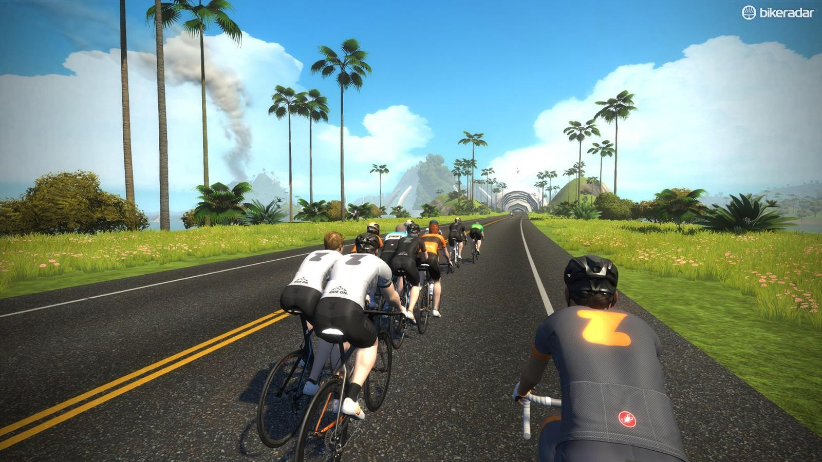 Challenge your friends and other riders around the world