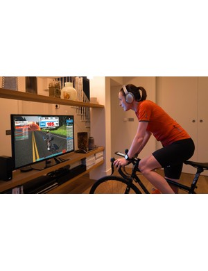 Cycling and TV setup