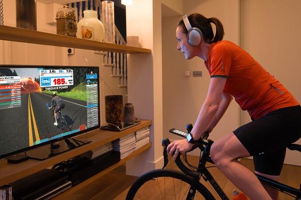 Cycling and TV setup