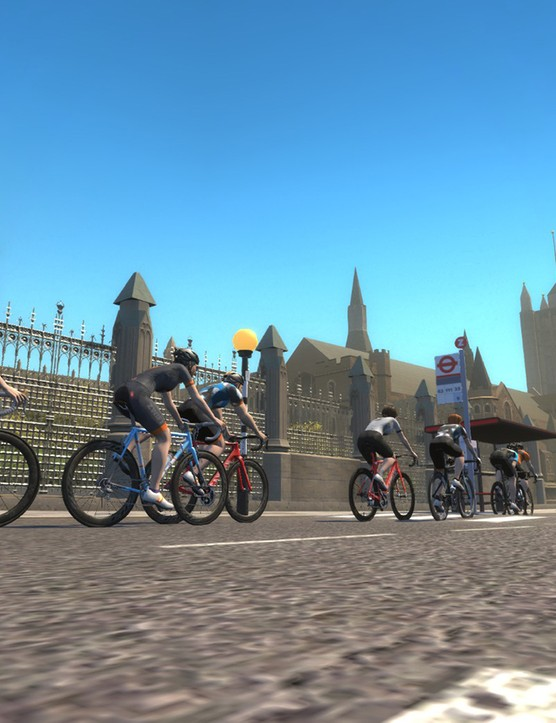 Ride through London