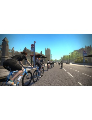 Ride through London