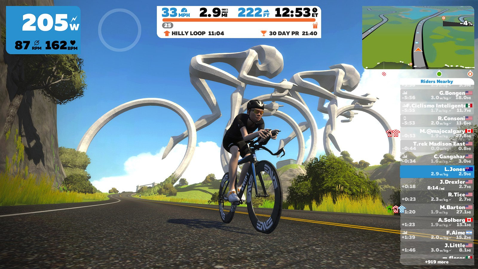 Zwift's got a full complement of bikes, each with their own advantages, including time-trial bikes