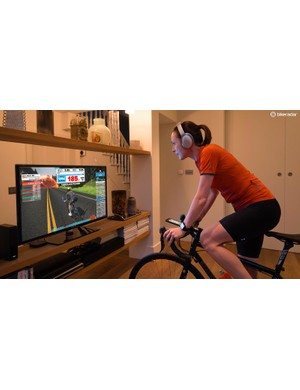 Zwift setup on your TV