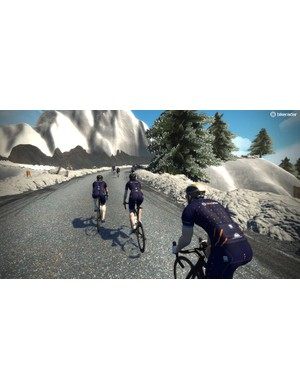 Riders can take advantage of drafting on group rides and races