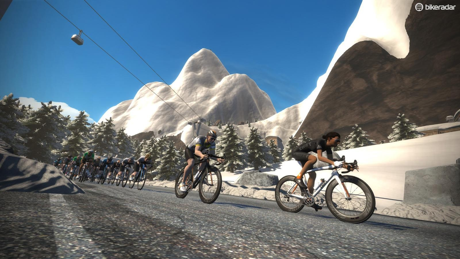 Watopia mountain ride