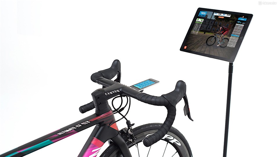 Zwift virtual cycling comes to the iPhone and iPad - BikeRadar