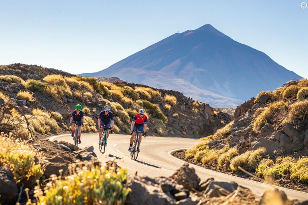 Our trio jetted out to Tenerife to take on Mount Teide