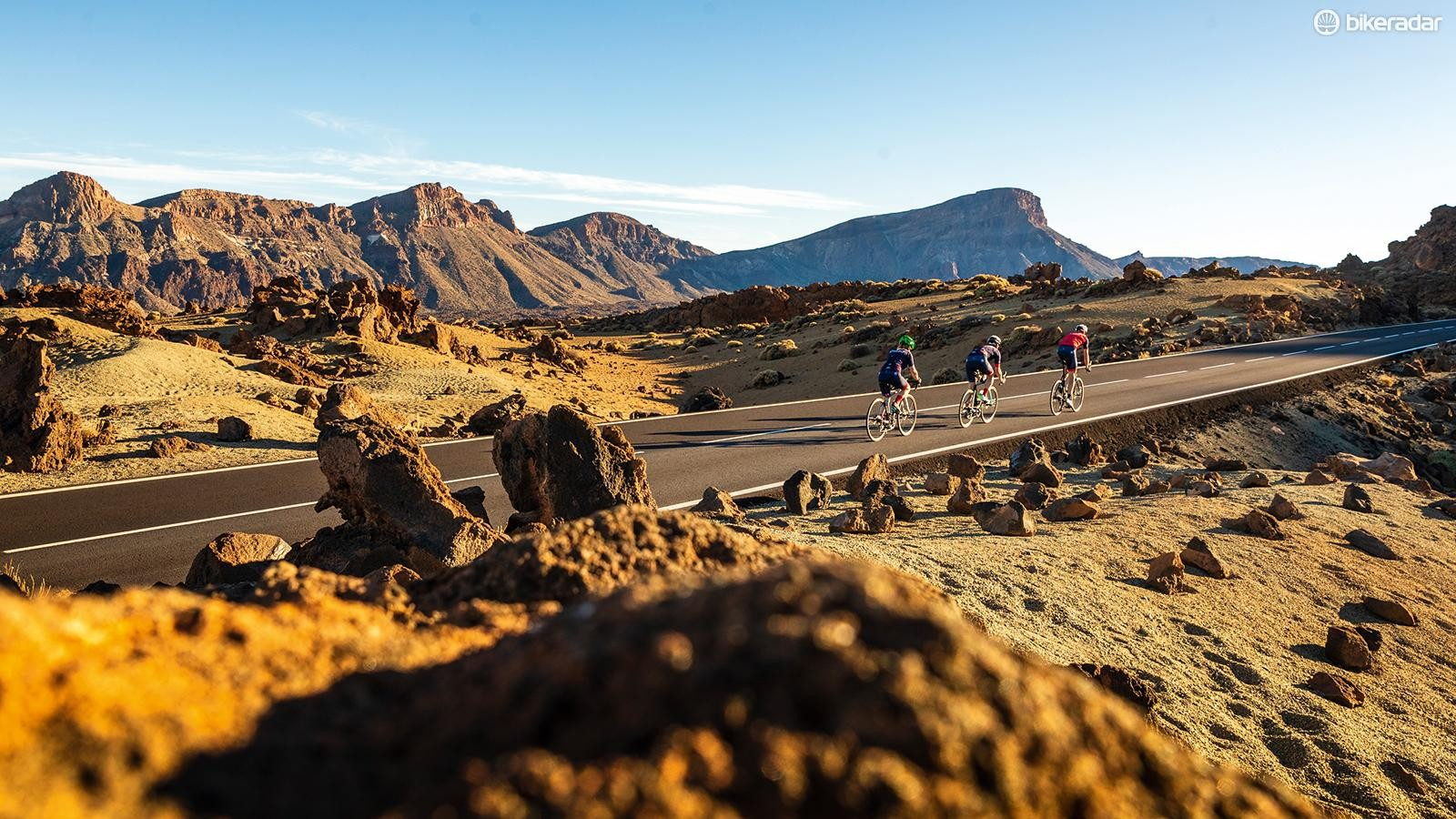 Same but different for our Zwifters on Mt Teide