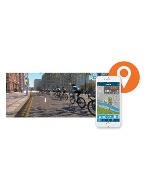 Zwift's Mobile Link app